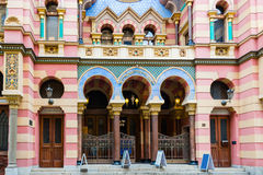 Prague Synagogue Royalty Free Stock Images