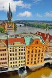 Prague tak Fotografering för Bildbyråer