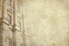 Prague tappningbakgrund royaltyfri foto
