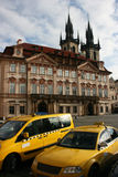 prague taxi obrazy stock