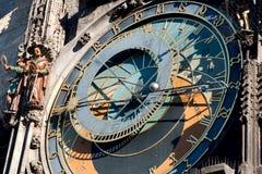Prague timmar Royaltyfria Bilder