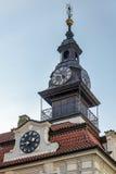 PRAGUE TJECK REPUBLIC/EUROPE - SEPTEMBER 24: Tornspira av Jewien Arkivbilder