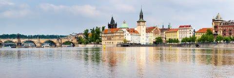 Prague Tjeckien Arkivfoto