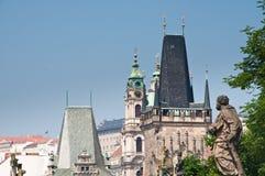 Prague Tjeckien. Royaltyfri Bild