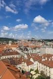 Prague Tjeckien Arkivbilder