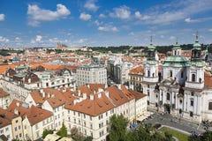 Prague Tjeckien Royaltyfria Bilder