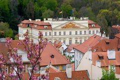 Prague Tjeckien Fotografering för Bildbyråer
