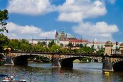 Prague Tjeckien Arkivfoton