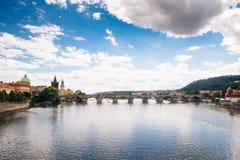 Prague Tjeckien - 04 Juli 2016 Royaltyfria Bilder
