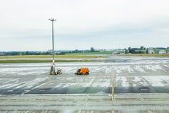 PRAGUE TJECKIEN - JUNI 16, 2017: Vaclav Havel Prague International Airport Ruzyne, Tjeckien Arkivbild
