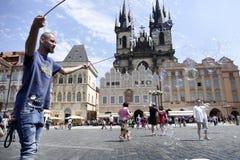 Prague tjeckisk republik Royaltyfri Fotografi