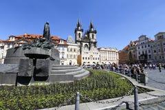 Prague tjeckisk republik Arkivfoton