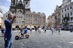 Prague tjeckisk republik Fotografering för Bildbyråer