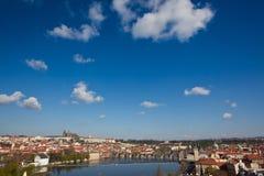 Prague tjeckisk republik, gammal town Arkivbilder