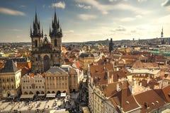 Prague tjeckiska Republik Royaltyfri Bild