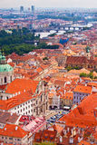 Prague. Top view Royalty Free Stock Images