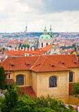 Prague. Top view Stock Photo