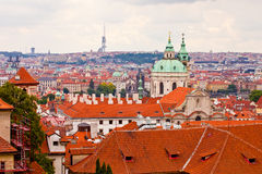 Prague. Top view Stock Photography