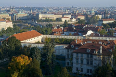 Prague - top view Royalty Free Stock Image
