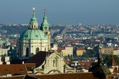 Prague - top view Royalty Free Stock Photo