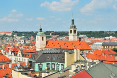 Prague. Top-view of the Old Town Royalty Free Stock Photography