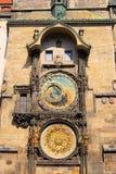 Prague tornklocka Royaltyfri Foto