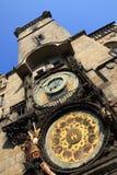 Prague tower clock Royalty Free Stock Photo