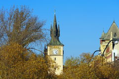 Tower in Prague, Czech Republic Stock Photo