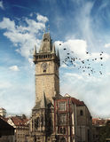 Prague town hall Stock Photography
