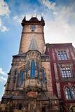 Prague Town Hall Rathaus Stock Photo