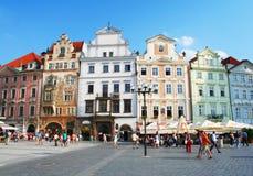 Prague town square Stock Photos