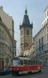 Prague tram Stock Photo