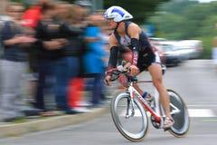 Prague triathlon 2012 Royalty Free Stock Photo