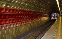 Prague tube Stock Photography