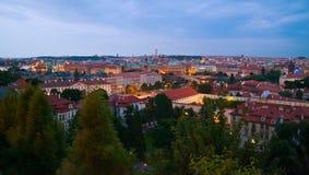 Prague In Twilight Royalty Free Stock Photos