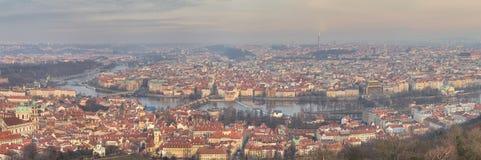 Prague at Twilight Stock Photography