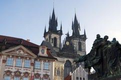 Prague Tyn Royaltyfria Foton