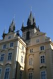 Prague. Tyn Cathedral Royalty Free Stock Photography