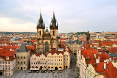 Prague, Tyn Cathedral of the Virgin Mary Royalty Free Stock Photo