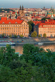 Prague, Tyn Church and Old Town Square. Czech Republic. Prague, Old Town Square. Czech Republic Royalty Free Stock Images
