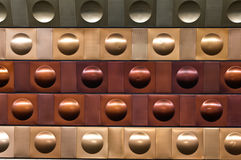 Prague underground, Czech Republich wall texture Stock Photos