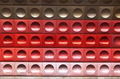 Prague underground, Czech Republich wall texture Stock Images