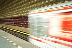 Prague underground Royalty Free Stock Images