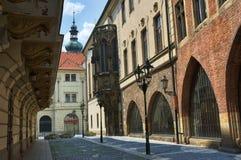 Prague universitet - Karolinum Fotografering för Bildbyråer