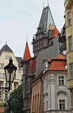 Prague urban scenic Royalty Free Stock Images