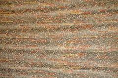 Prague vägg i en synagoga Fotografering för Bildbyråer