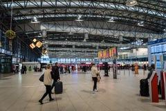 Prague Vaclav Havel Airport Terminal 2 Image stock