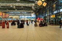 Prague Vaclav Havel Airport Terminal 2 Images stock
