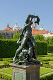Prague, valdstejnska garden Stock Photography