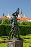 Prague, valdstejnska garden Stock Image